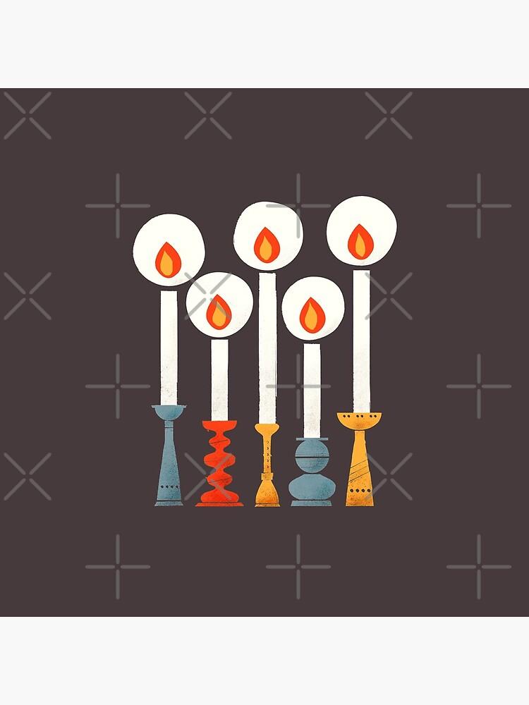 Christmas Retro Candles by ShowMeMars