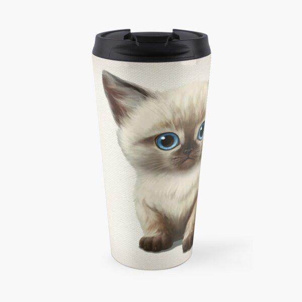Cataclysm- Siamese Kitten Classic Travel Mug