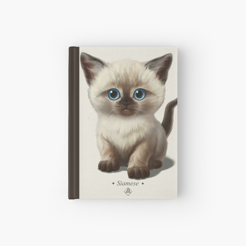 Cataclysm- Siamese Kitten Classic Hardcover Journal