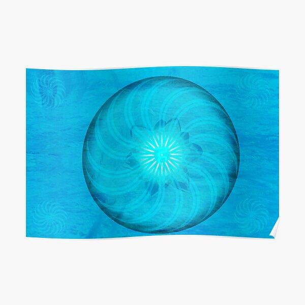 Throat Chakra ~ Blue ~ Vishudah ~ Male Poster