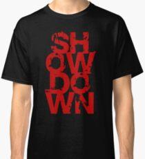 Showdown textual Classic T-Shirt