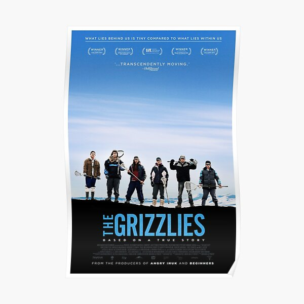 The Grizzlies - Official Poster  Poster