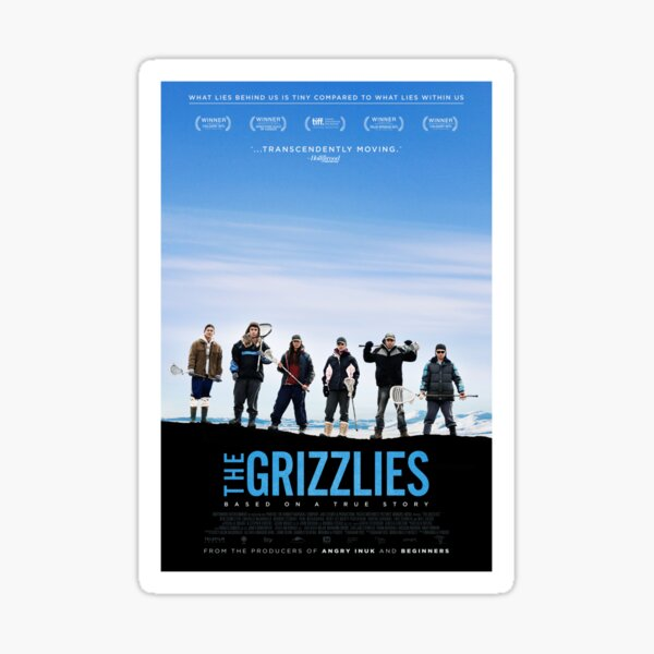 The Grizzlies - Official Poster  Sticker