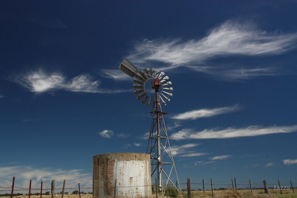 blue skys by fazza