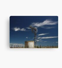 blue skys Canvas Print