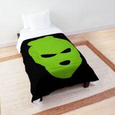 BLANK FACE GREEN Comforter