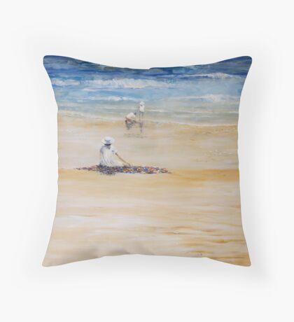 TASMANIAN SUMMER Throw Pillow