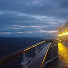 Approaching Melbourne on Diamond Princess by yeuxdechat