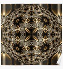 Double Quadrium Orb Poster