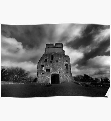 Donnington Castle Ruins Poster