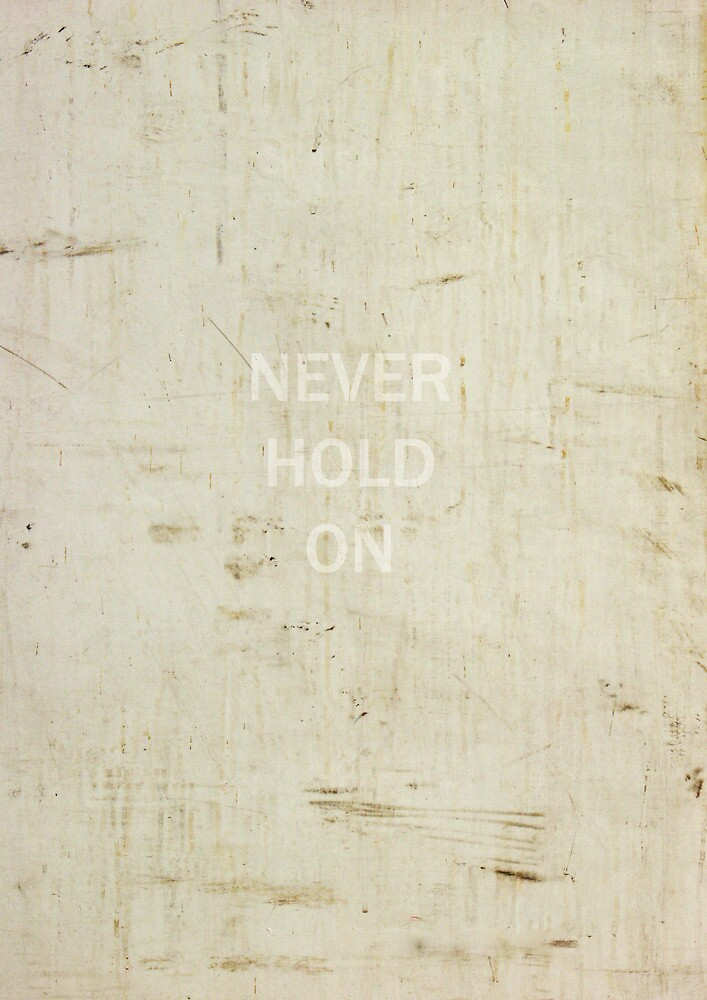 Never Hold On by David North
