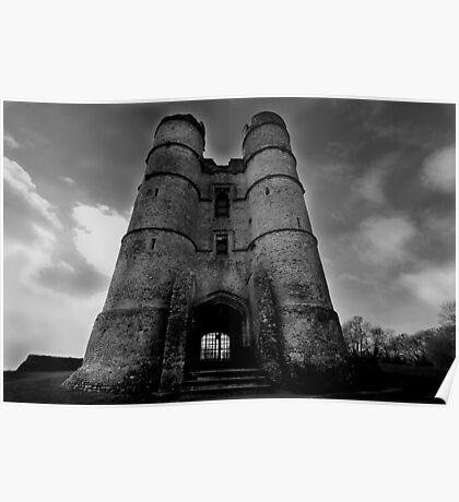 The Gate House - Donnington Castle Poster