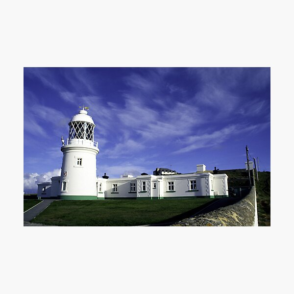 Pendeen Lighthouse Photographic Print