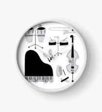 Instrumentos para tocar música salsa Reloj