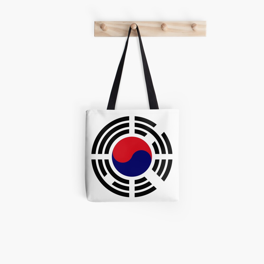 Korean Patriot Flag Series  Tote Bag