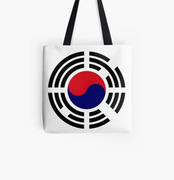 Korean Patriot Flag Series  All Over Print Tote Bag