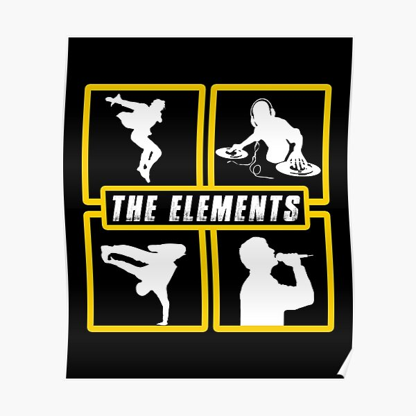 The Elements of Art Poster