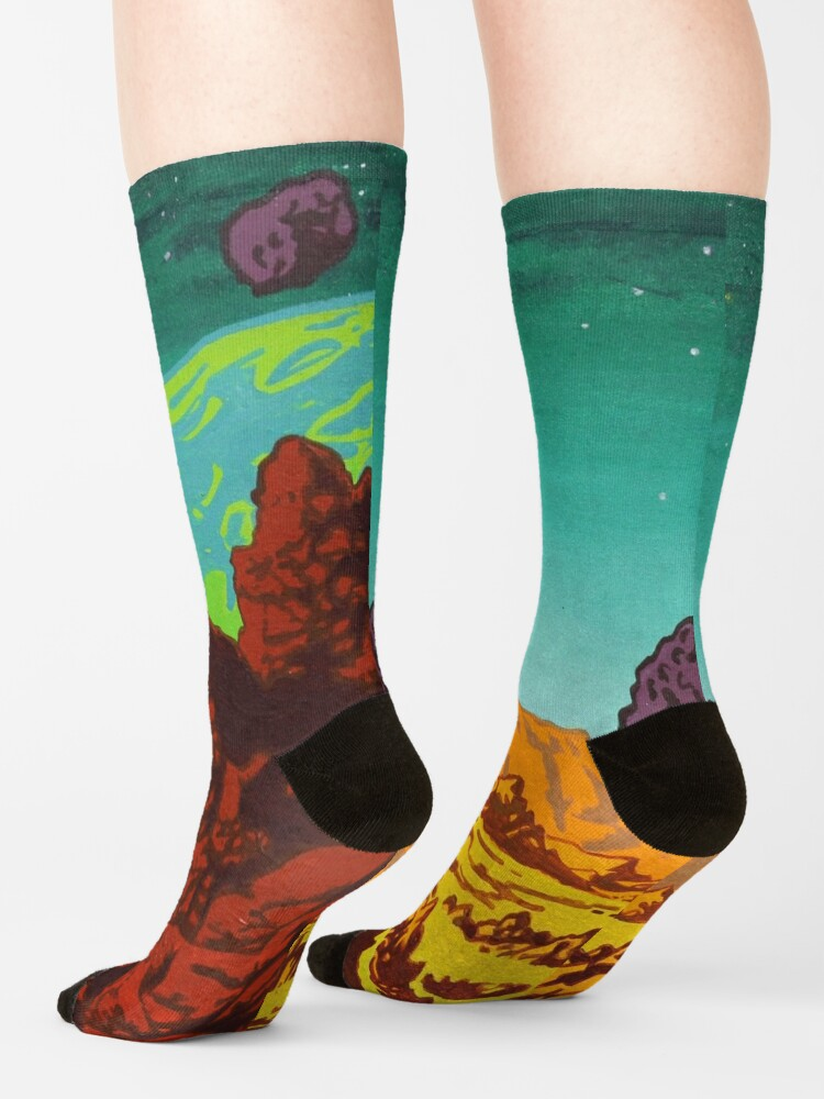 Alternate view of Spacescape Socks