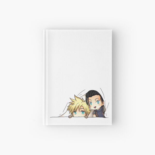 Zack and Cloud Hardcover Journal