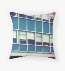 Coffee Shop — New York Throw Pillow