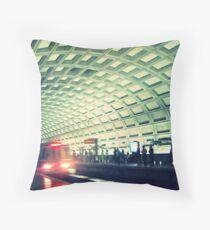 DC Metro Throw Pillow