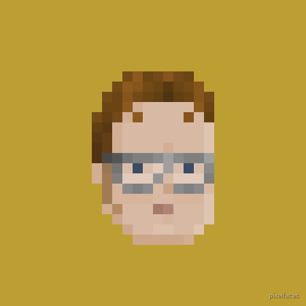 Schrute by pixelfaces