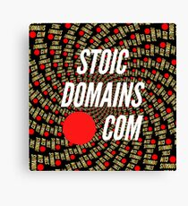 Stoic Domains - Com Canvas Print