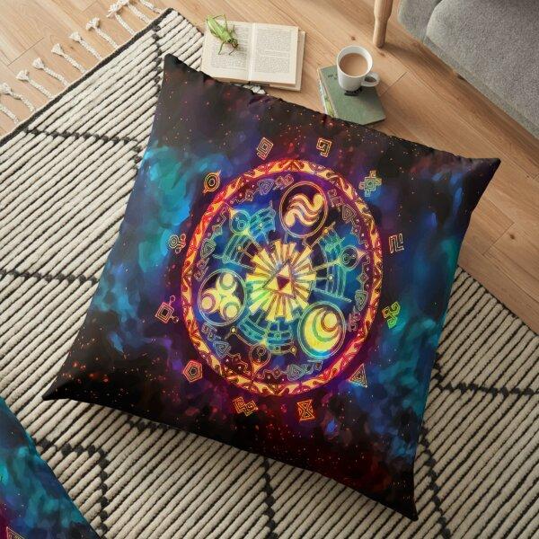 Triforce Space Floor Pillow