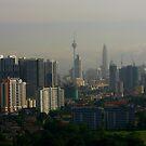 Kuala Lumpur morning by Kamila  Jerichow