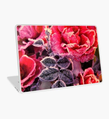 Christmas Roses  Laptop Skin