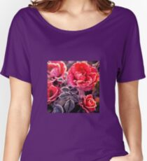 Christmas Roses  Women's Relaxed Fit T-Shirt