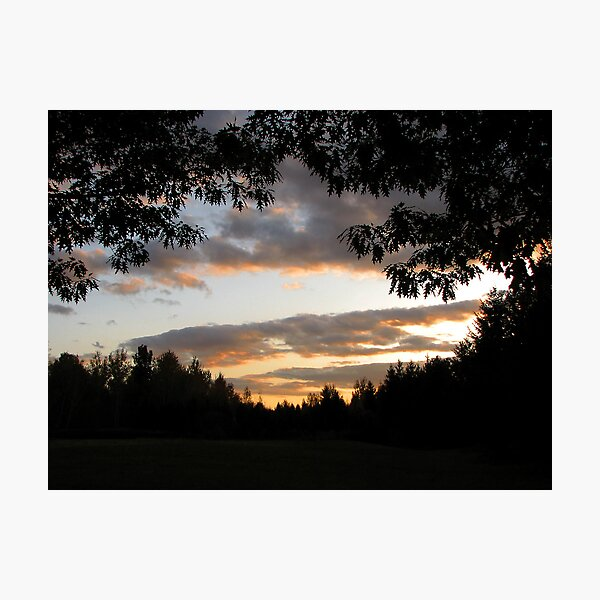 Sun Goes Down Photographic Print