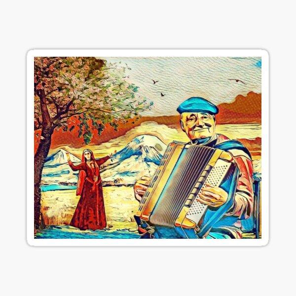 Armenian Music Sticker