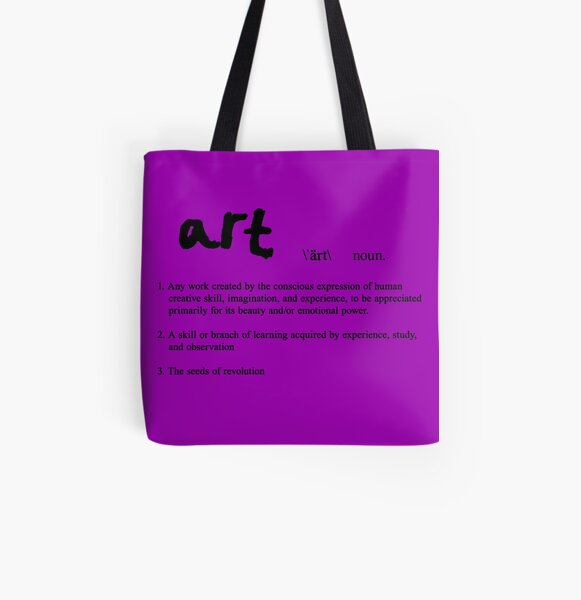 BFA - Definition of Art All Over Print Tote Bag