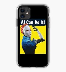 AI Can Do It iPhone Case