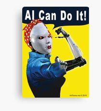 AI Can Do It Canvas Print