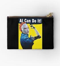 AI Can Do It Zipper Pouch
