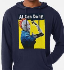 AI Can Do It Lightweight Hoodie