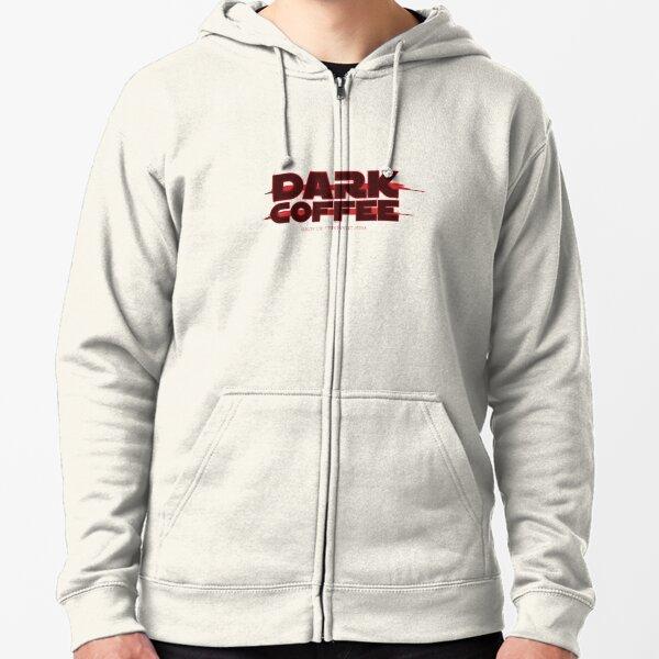 Dark Coffee Zipped Hoodie