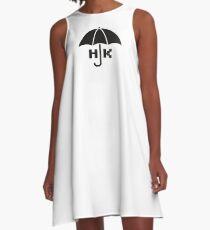 Hong Kong - Black A-Line Dress