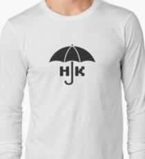 Hong Kong - Black Long Sleeve T-Shirt