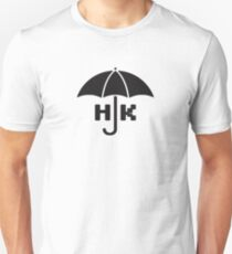 Hong Kong - Black Slim Fit T-Shirt