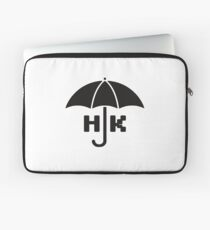 Hong Kong - Black Laptop Sleeve