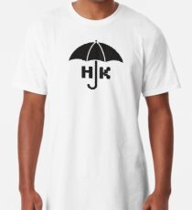 Hong Kong - Black Long T-Shirt