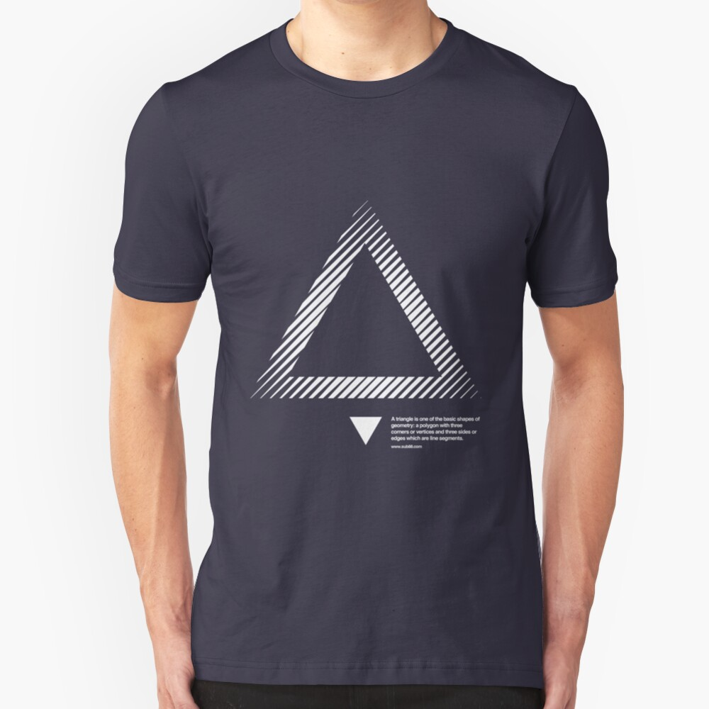 triangle 01 Slim Fit T-Shirt