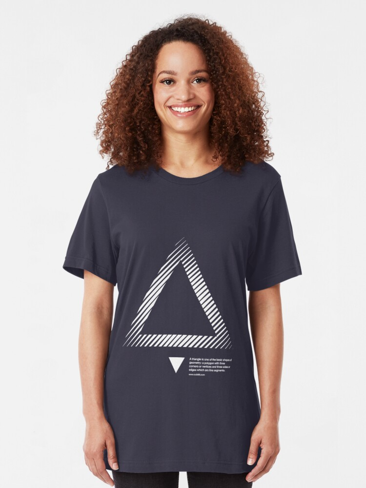 Alternate view of triangle 01 Slim Fit T-Shirt