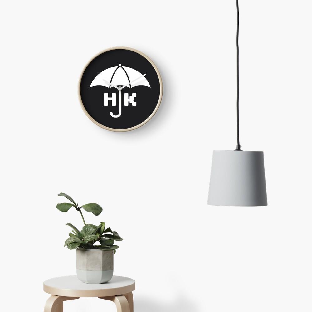 Hong Kong - White Clock