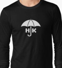 Hong Kong - White Long Sleeve T-Shirt