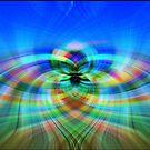 colorful Twirl von Nicole Bleck