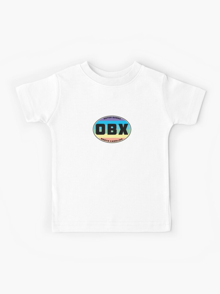 outer banks obx north carolina oval kids t shirt by myhandmadesigns redbubble outer banks obx north carolina oval kids t shirt by myhandmadesigns redbubble
